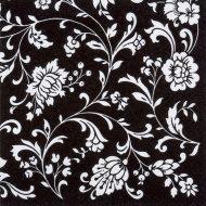 Arabesque Black White