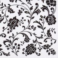 Arabesque White Black