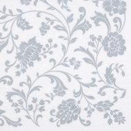 Arabesque White Silver