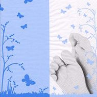 Pieds De Bebe Blue