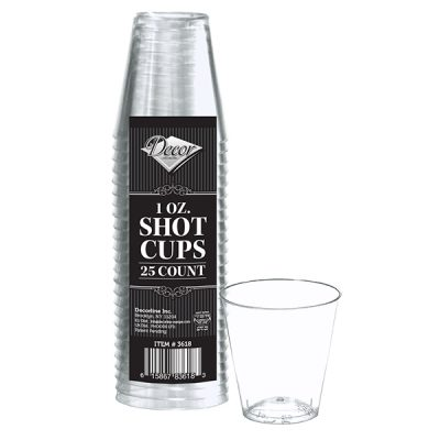 Shot cups 1 oz
