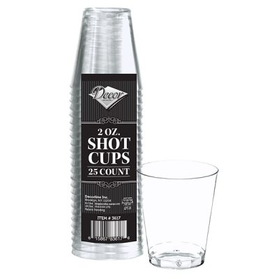 Shot cups 2 oz