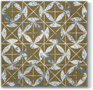 Mosaic Texture Gold