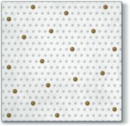 Inspiration Dots Spots White/Gold