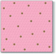 Inspiraiton Dots Spots Rosa/Gold