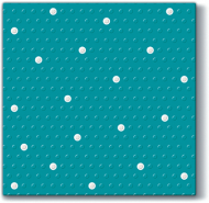 Inspiration Dots Spots Turquoise/White