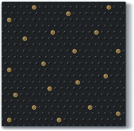 inspiration Dots Spots Black/Gold
