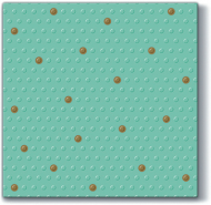 Inspiration Dots Spots Mint/Gold