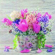 Pastel Spring Flowers
