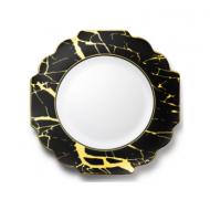 6.5″ Dinner plates marble