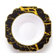 7.5″ Dinner bowls marble