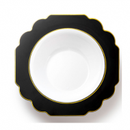 7.5″ Dinner bowls rim